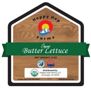 Hoppy Hop Farms, Butter Lettuce