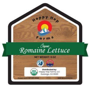 Hoppy Hop Farms, Romaine Lettuce