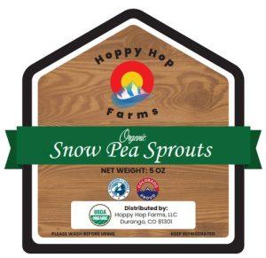Hoppy Hop Farms, Snow Pea Sprouts